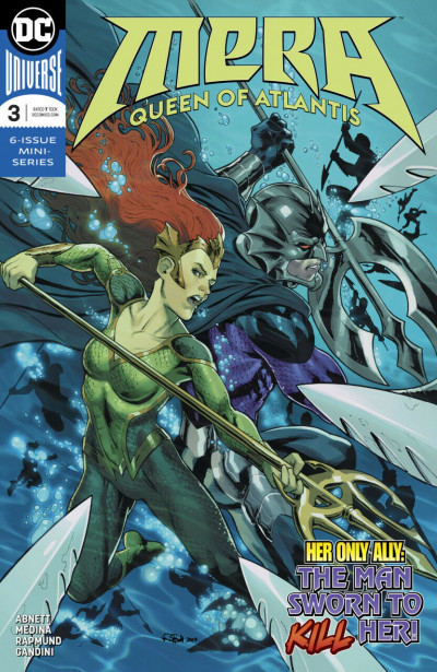 Mera: Queen of Atlantis (2018) #3 VF/NM DC Universe