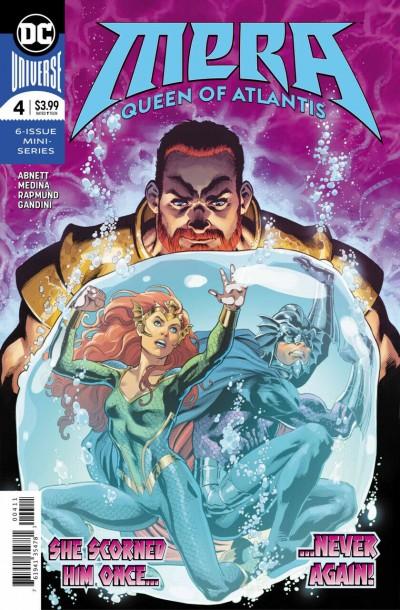 Mera: Queen of Atlantis (2018) #4 VF/NM DC Universe