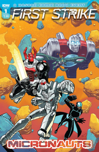 Micronauts First Strike (2017) #1 VF/NM IDW