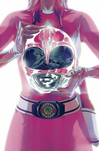 Mighty Morphin Power Rangers (2016) #42 VF/NM-NM Pink Ranger Foil Cover