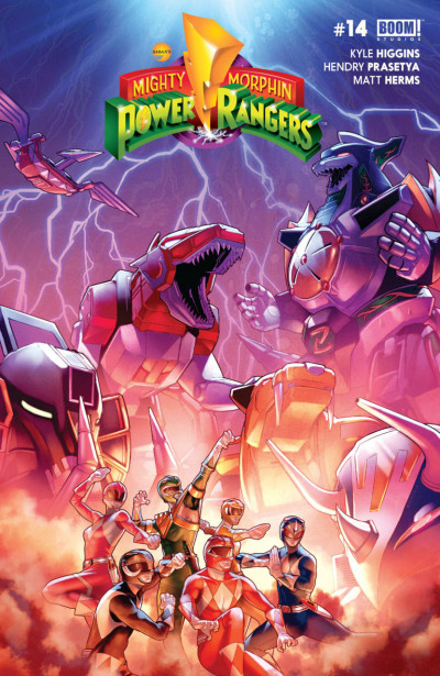 Mighty Morphin Power Rangers (2016) #14 VF/NM Boom!
