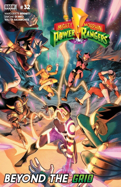 Mighty Morphin Power Rangers (2016) #32 VF/NM Beyond The Grid Boom! Studios
