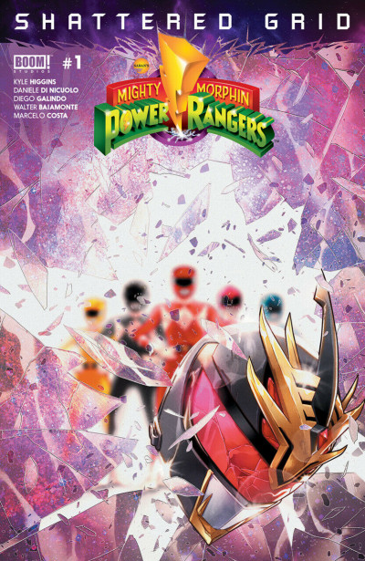 Mighty Morphin Power Rangers: Shattered Grid (2018) #1 VF/NM-NM Boom! Studios