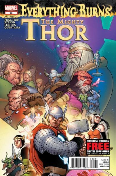 MIGHTY THOR #22 NM EVERYTHING BURNS AFTERMATH