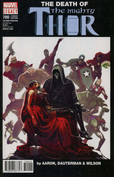 Mighty Thor (2015) #700 VF/NM Homage Variant Cover Marvel Graphic Novel #1