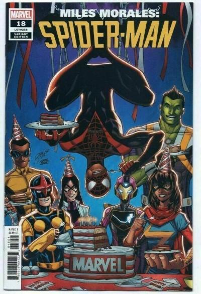 Miles Morales: Spider-Man (2018) #18 (#258) VF/NM-NM 1 Per Store Birthday Cover