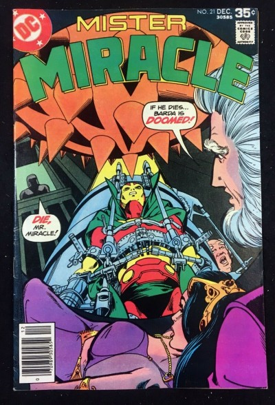 Mister Miracle (1971) #21 FN+ (6.5) Marshall Rogers cover & art