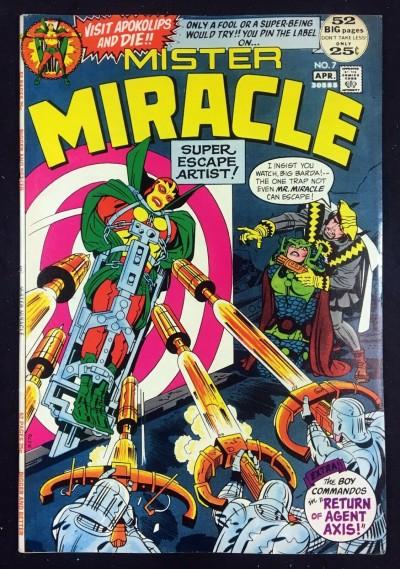 Mister Miracle (1971) #7 VF (8.0) 1st app Kanto & Jet Bow Squad