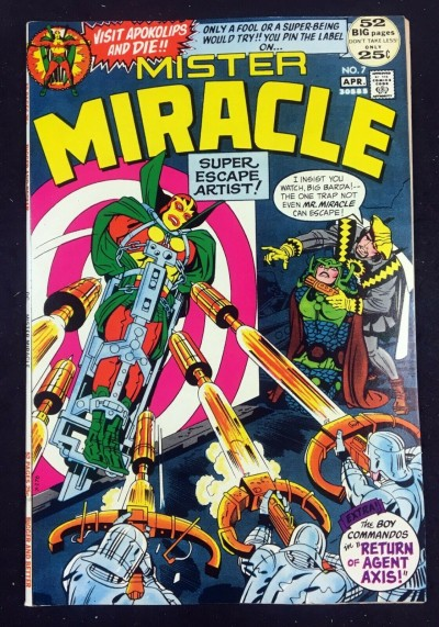 Mister Miracle (1971) #7 NM (9.4) 1st app Kanto & Jet Bow Squad