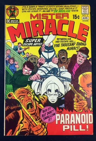 Mister Miracle (1971) #3 VF- (7.5) Jack Kirby story and art