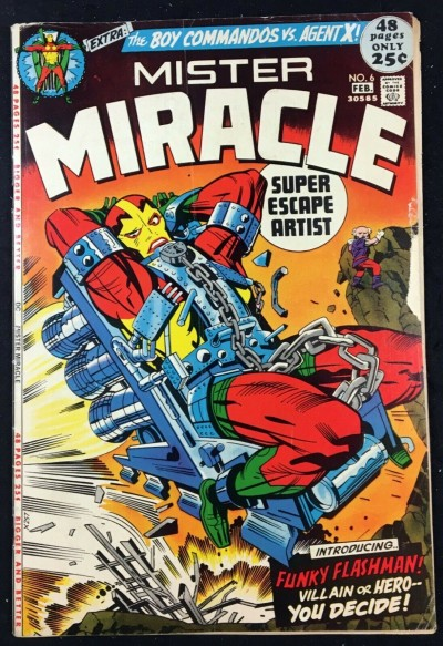 Mister Miracle (1971) #6 VG (4.0) 1st app Female Furies