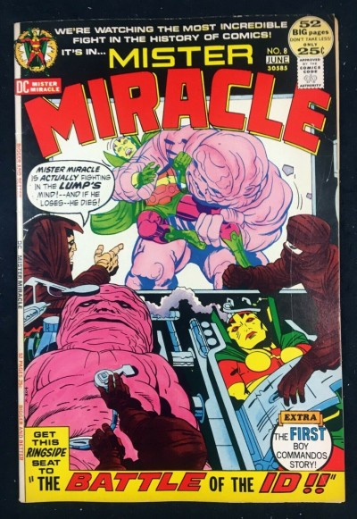 Mister Miracle (1971) #8 VF+ (8.5) Boy Commandos