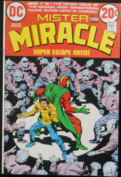 MISTER MIRACLE #15 NM- INTRO / 1ST APP SHILO NORMAN