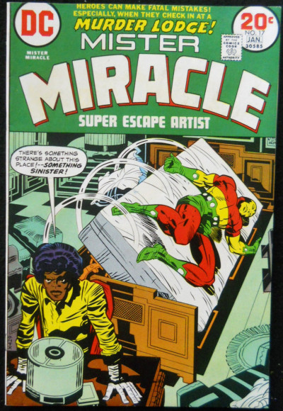 MISTER MIRACLE #17 FN/VF