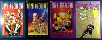 Moebius Airtight Garage Onyx Overload (1992) 1 2 3 & Airtight Garage (1993) #4