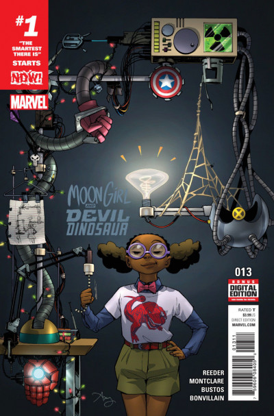 Moon Girl and Devil Dinosaur (2016) #13 VF/NM