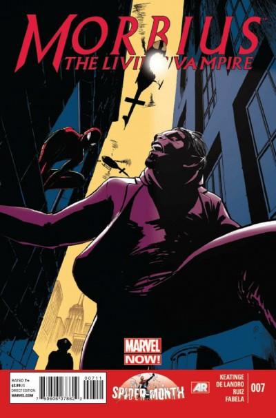 MORBIUS: THE LIVING VAMPIRE (2012) #7 VF MARVEL NOW! SPIDER-MAN