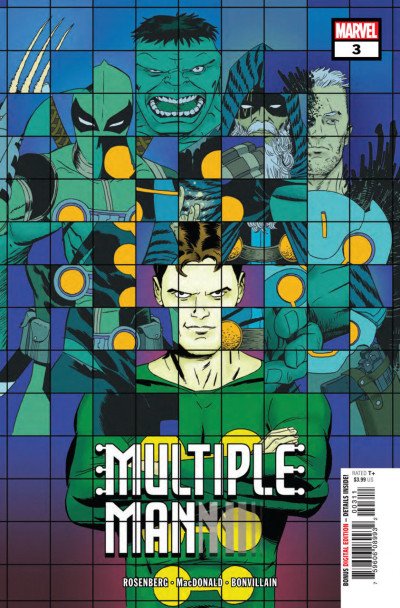 Multiple Man (2018) #3 of 5 VF/NM X-men