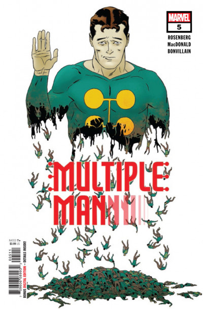 Multiple Man (2018) #5 of 5 VF/NM X-men