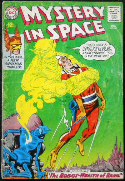 MYSTERY IN SPACE #88 GD ADAM STRANGE & HAWKMAN STORIES