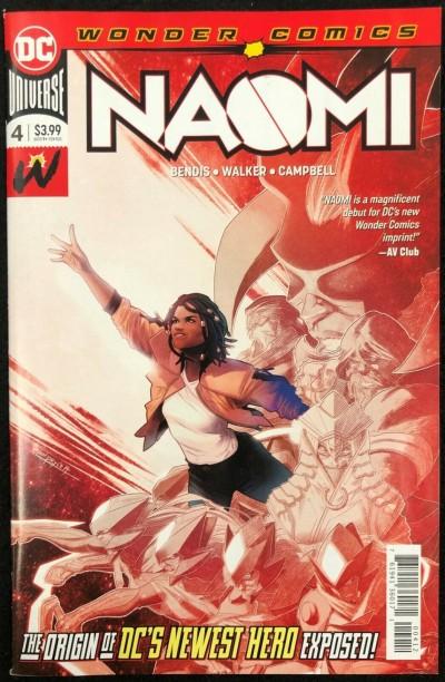 Naomi (2019) #4 NM (9.4) 2nd Printing Bendis Jamal Campbell