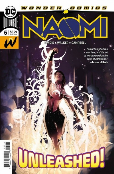 Naomi (2019) #5 VF/NM 1st Printing Bendis Jamal Campbell