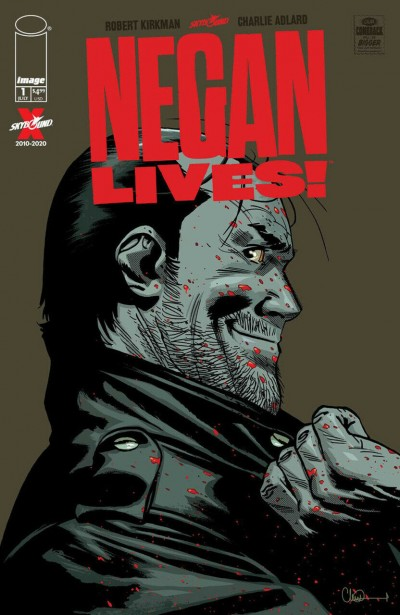 Negan Lives! (2020) #1 VF/NM Charlie Adlard 1st and 2nd Print Cover Lot Image
