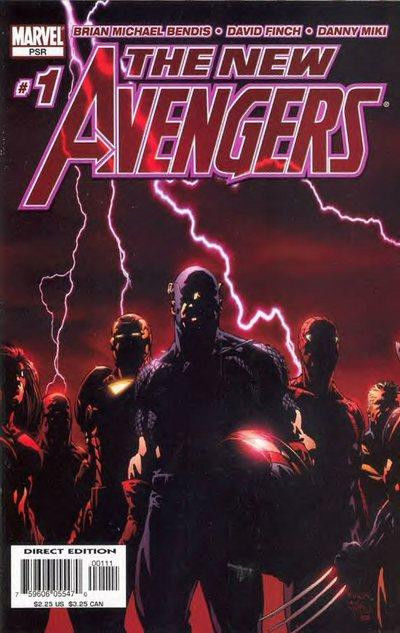 NEW AVENGERS (2005) #1 VF+ - VF/NM DAVID FINCH COVER