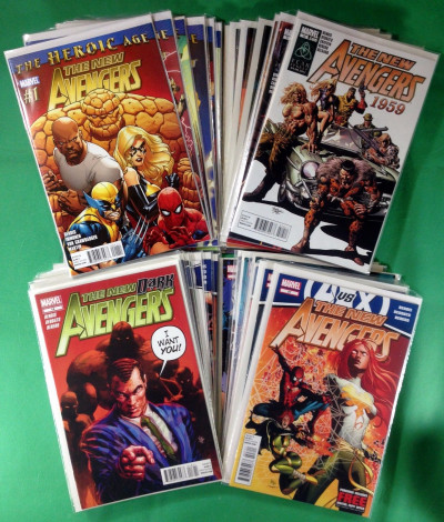 New Avengers (2010) #1-34 complete set 35 comics