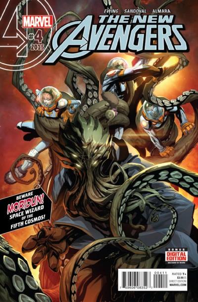 New Avengers (2015) #4 VF/NM