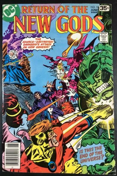 New Gods (1971) #18 FN (6.0) Darkseid app