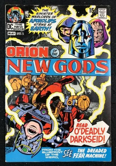 New Gods (1971) #2 FN+ (6.5) 2nd full app Darkseid & 1st cover appearance