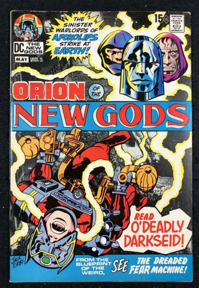 New Gods (1971) #2 FN/VF (7.0) 2nd full app Darkseid & 1st cover appearance