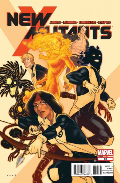 NEW MUTANTS #38 VF/NM