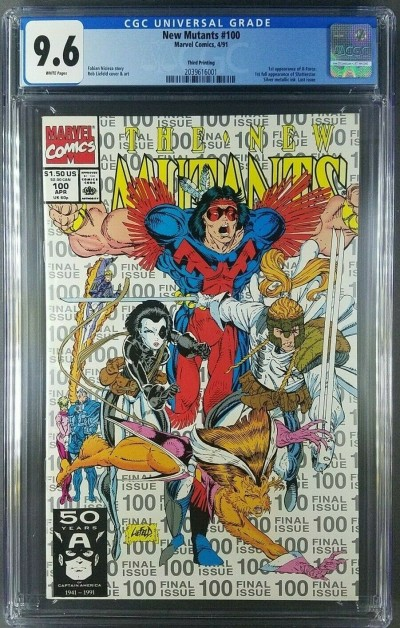 New Mutants (1983) #100 CGC 9.6 1st app X-Force 3rd printing (2039616001)|