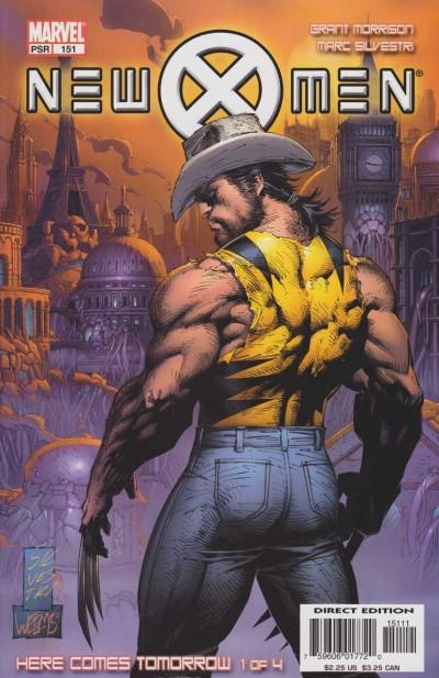 New X-men (2001) #'s 151 152 153 154 Here Comes Tomorrow Set Grant Morrison