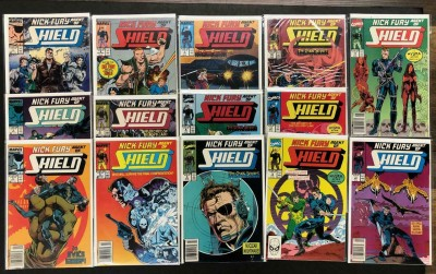 Nick Fury, Agent of SHIELD (1989) #'s 1 2 3 4 5 6 7 8 9 10 11 12 13 14 VF/NM Lot