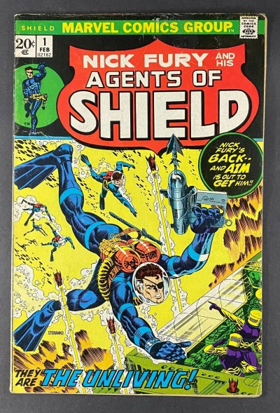 Nick Fury and His Agents of S.H.I.E.L.D. (1973) #1 VG+ (4.5)