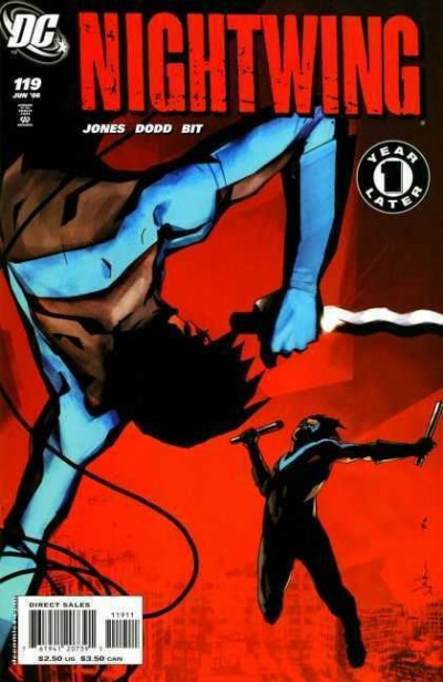 Nightwing (1996) #119 VF/NM Jock Cover