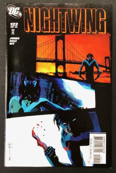 Nightwing (1996) #122 VF+ Jock Cover
