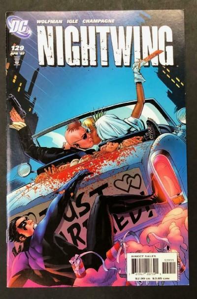 Nightwing (1996) #129 VF Jamal Igle Marv Wolfman