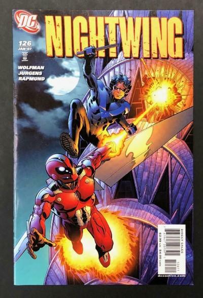 Nightwing (1996) #126 VF- Dan Jurgens Marv Wolfman