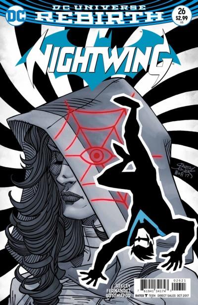 Nightwing (2016) #26 VF/NM Casey Jones Variant Cover DC Universe Rebirth