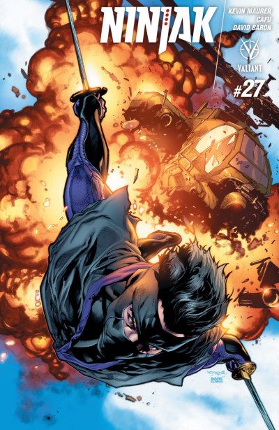 Ninjak (2015) #27 VF/NM Stephen Segovia Cover A Valiant