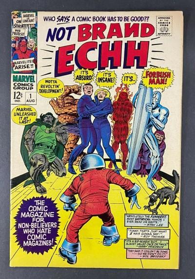 Not Brand Echh (1967) #1 VF- (7.5) 1st Marvel Parody Book 1st Forbush Man Kirby