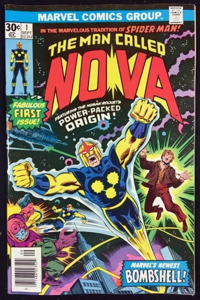 Nova (1976) #1 NM- (9.2) Origin & 1st app Nova