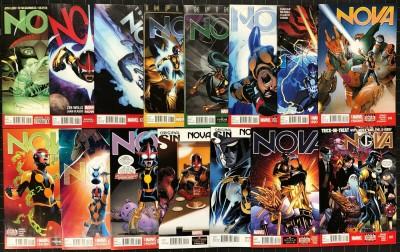 Nova (2013) #5-22 VF/NM (9.0) near complete run missing #10 12 18 15 comics