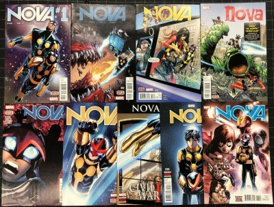 Nova (2016) #1-11 VF/NM (9.0) near complete set missing #6 8 nine comics total