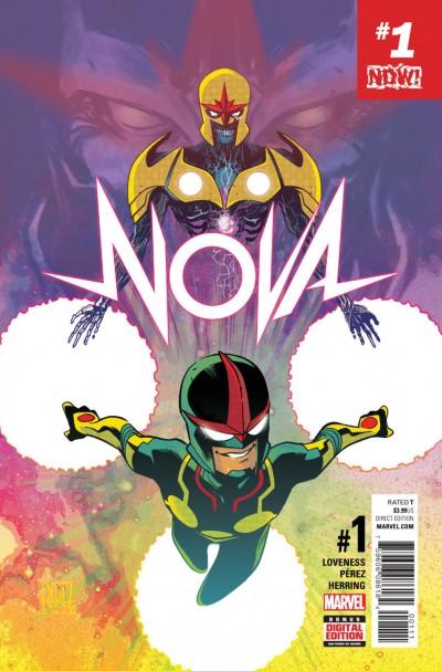 NOVA (2017) #1 VF/NM  Sam Alexander Ego Return of Classified