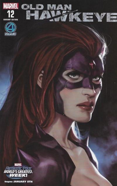 Old Man Hawkeye (2018) #12 VF/NM Fantastic Four Villains Variant Cover (Titania)